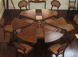 dining room table plans with leaves round tables with self storing leaves for the dining room prepossessing table