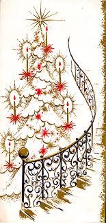 Christmas Swirls Christmas Swirls And Flourishes Mid Century Modern