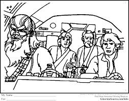 Coloring Pages Marvelous Star Wars Coloringets Photo Ideas Free