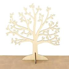 earring holder stand wooden jewelry tree organizer wood earning display unique gift for girlfriend diy
