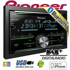 pioneer 2 din car stereo. pioneer fh-x 840 dab 2-din bluetooth + digital radio cd usb 2 din car stereo