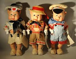 madame alexander mother goose three little pigs 11 doll set in original bo