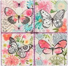 """<b>Подставка под горячее ENS</b> Group """"Бабочки"""", 16 х 16 см. 4730121 ..."""