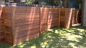 diy privacy fence on a budget