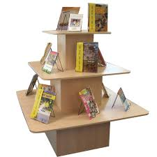 Library Book Display Stands Pyramid Display Stand Fry Library School Supplies 8