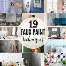19 faux painting techniques that don t