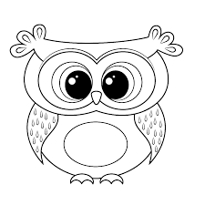 Cartoon Owl Coloring Page From Owls