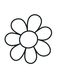 Flower Coloring Pages For Preschoolers Flower Coloring Pages For