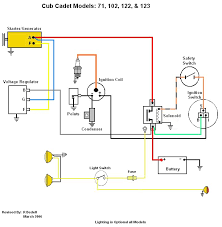 voltage regulator page 2 only cub cadets