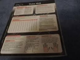 Math Operations Chart Details About Power Math Mathematical Operations And Numbers Chart
