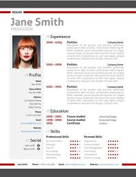 Find The Red Modern Resume Template On Www.cvfolio.com | Modern ...