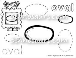 Small Picture Shape Coloring Pages 3 Dinosaurs