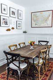 rustic dining room art. Touring The Picture-Perfect Home Of Lauren Wells Rustic Dining Room Art R