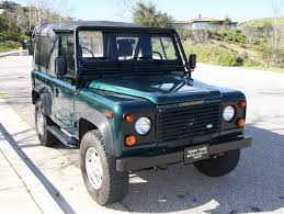 1997 land rover defender 90. originalowner 34kmile 1997 land rover defender 90