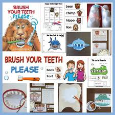 Dental Health And Teeth Preschool Activities Lessons And