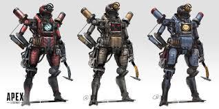 Pathfinder Design Artstation Apex Legends Pathfinder Prog Wang Concept