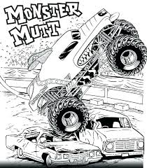 Bigfoot Monster Truck Coloring Pages Houseofhelpccorg