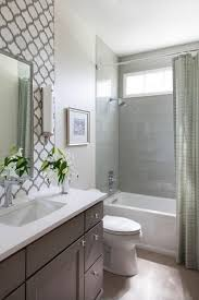 Backsplash Bathroom Ideas Magnificent Traditional Guest Bath With Decorative Tile Backsplash Wash Closet