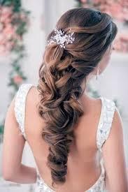 23 Verbluffende Half Opstaande Kapsels Voor De Bruiloft Frisuren Site