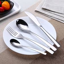 China <b>2019 New Stainless Steel Cutlery</b> Set with Elegant Model in ...