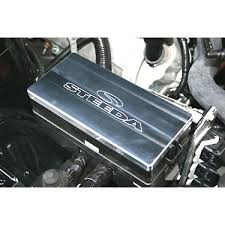 steeda mustang billet aluminum fuse box cover machine