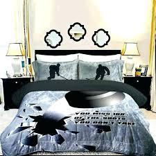 bedding sets hockey kids twin bed sheet nhl comforter set canada