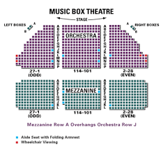 The Music Box Theater Seating Chart 24 Meticulous Borgata Music Box Seating