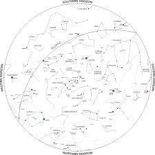 Trottier Observatory Star Charts Andrew Scherle Design