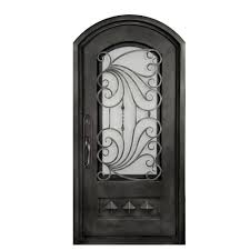 metal front doorsIron  Front Doors  Exterior Doors  The Home Depot
