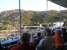 Crowd And Bowl Area Picture Of Ramona Bowl Amphitheatre