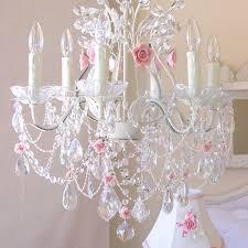kids rooms kids room white pink crystal chandelier light fixture kids bedroom chandelier baby room