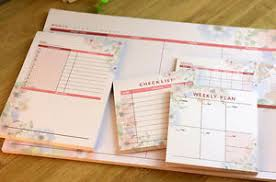 Daily Journal Planner Details About Monthly Weekly Daily Journal Schedule Planner Memo Notepad Organizer Check List