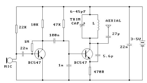 fm circuit page 10 rf circuits next gr Wiring Schematic Diagram 200m Fm Transmitter Simple Circuit 300m fm transmitter circuit design project