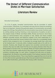 Sample Of Literature Review Apa Style How To Write A Literature Review Apa Style