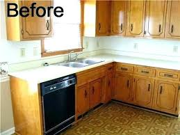 update laminate installing redoing change to concrete formica countertops paint look like granite your dark wood