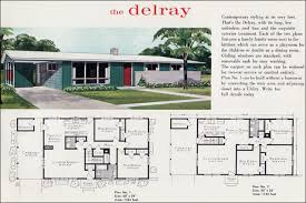 modern ranch house plans. 1960 Mid Century Modern Ranch The Delray Liberty Ready Cut House Floor Plans