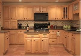 light maple kitchen cabinets. These Light Maple Kitchen Cabinets Have Thick Granite Countertops. H