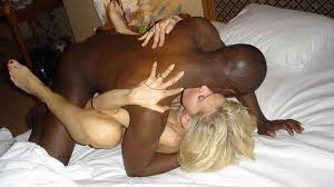 Hot wife fucks another black man