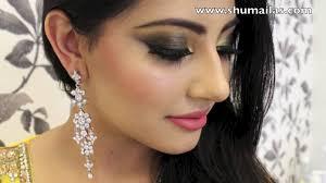 mehndi makeup tutorial indian stani bridal makeup