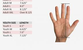 Nike Glove Size Chart 41 Hand Picked Goalkeeper Gloves Size Guide