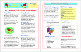 schools newsletter ideas 13 free newsletter templates you can print or email as pdf