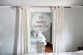 Diy Curtain Rods Diy Curtain Rod Finding Silver Pennies