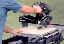 making bevel cuts cut tile wet saw