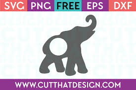 Compatible with cricut, silhouette and other cutting machines and easy to resize, change colors and customize however you'd like. Free Svg Files Elephant Archives Cut That Design