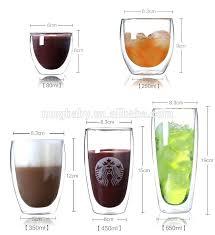 bodum double wall mug double wall glass coffee mug with various size glass glass coffee