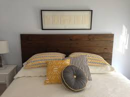 attractive headboard attached wall trends also plans the images making a wooden for beautiful headboards attached to wall