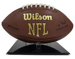 Football Display Stands Amazon Acrylic Football Basketball Black Base Stand Sports 3