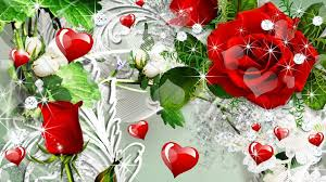 love roses and hearts wallpapers. Brilliant Roses Wallpapers For U003e Red Rose Heart Backgrounds With Love Roses And Hearts S