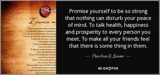 Promise Yourself To Be So Strong Quote Best of Christian D Larson Quote Promise Yourself To Be So Strong That