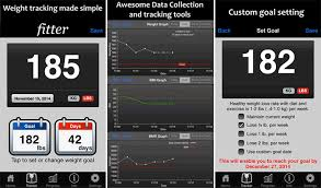 ter fitness calculator and weight tracking iphone and ipad app screenshot